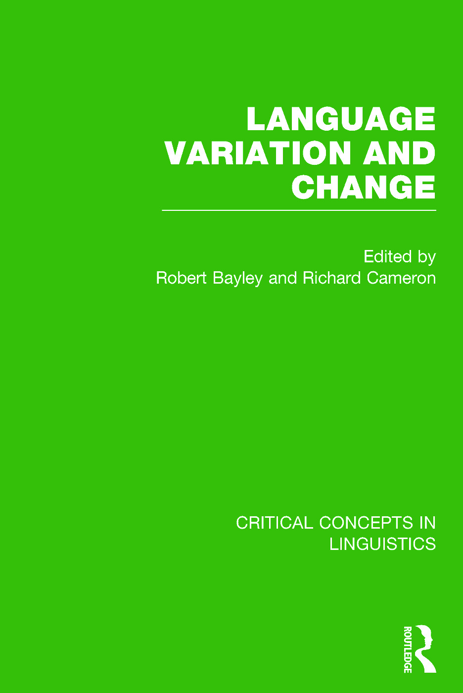 Language Variation and Change: 1st Edition (Hardback) book cover