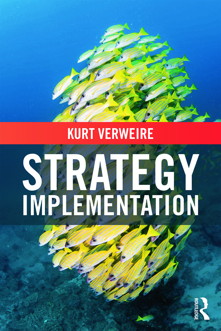 Strategy Implementation: 1st Edition (Paperback) book cover