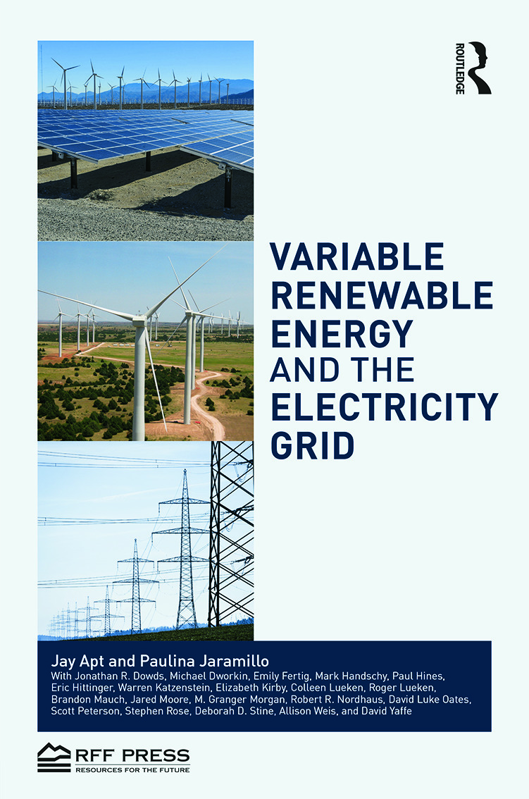 Variable Renewable Energy and the Electricity Grid (Hardback) book cover