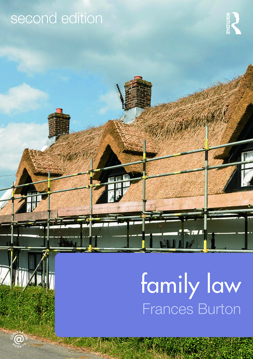 Family Law: 2nd Edition (Paperback) book cover