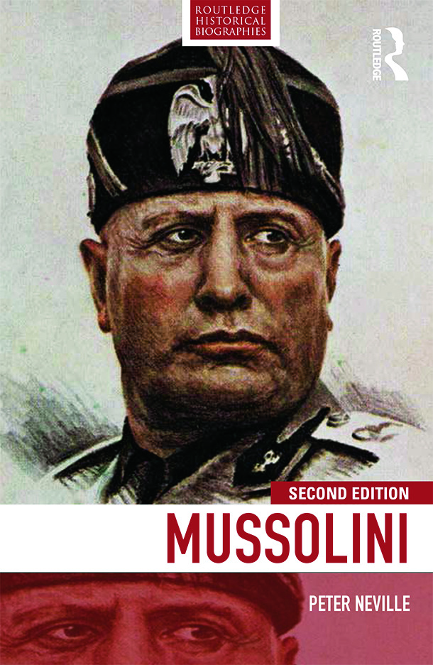 Mussolini book cover