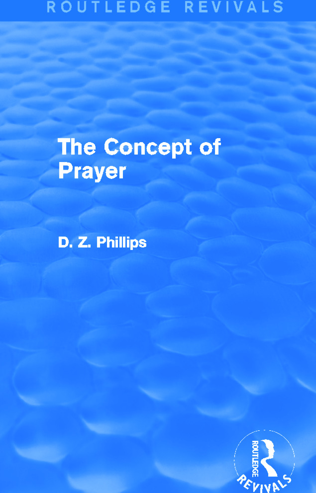 Prayer and Verification