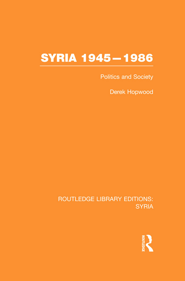 Syria 1945-1986 (RLE Syria)