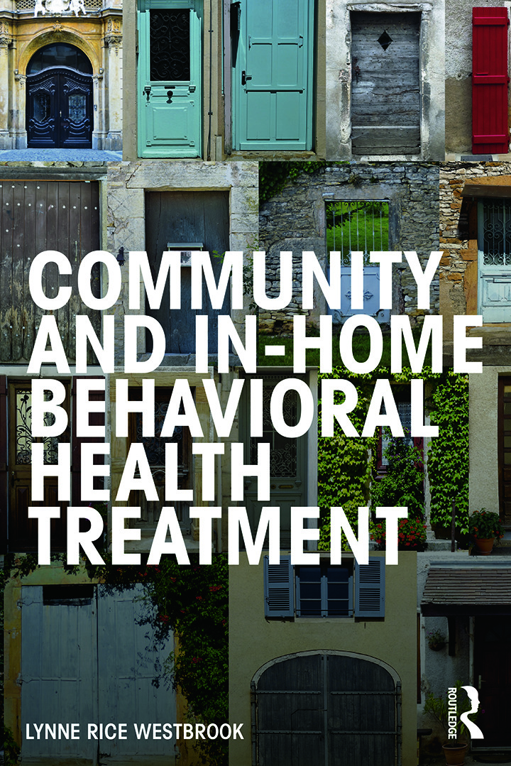 Community and In-Home Behavioral Health Treatment book cover