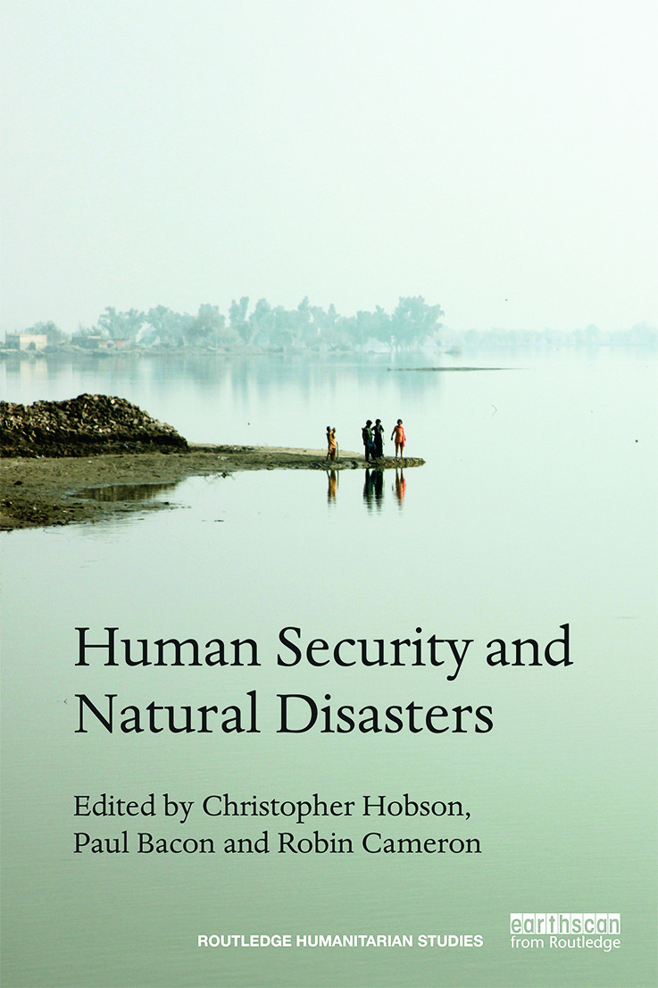Human Security and Natural Disasters (Hardback) book cover