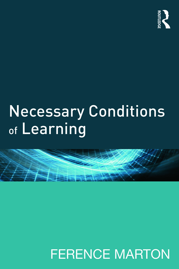 Necessary Conditions of Learning: 1st Edition (Paperback) book cover
