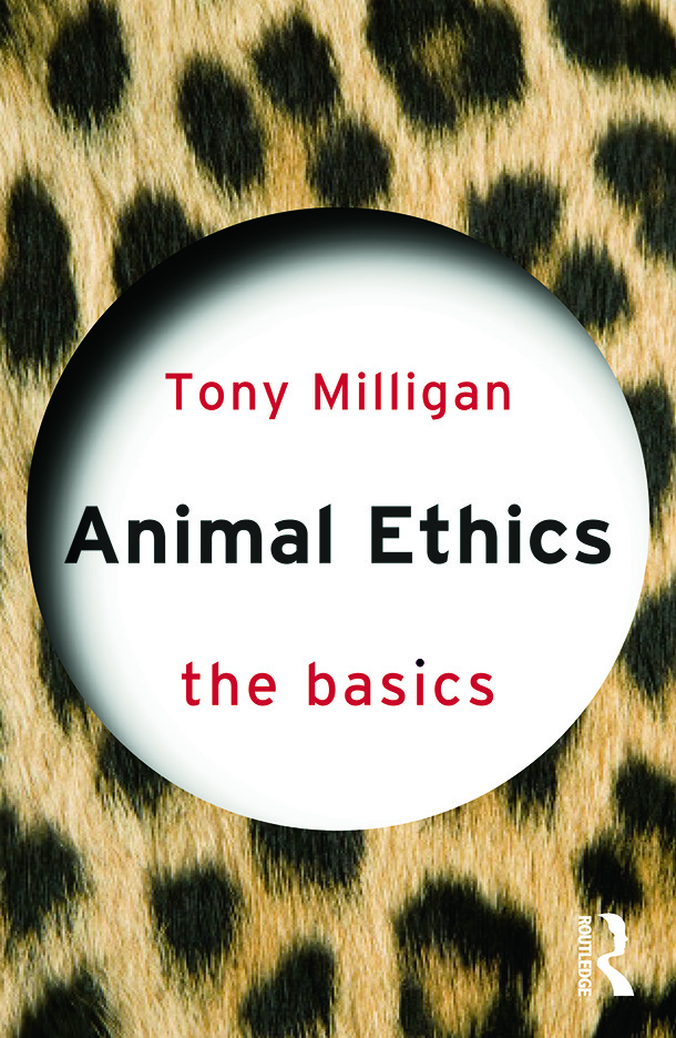 Animal Ethics: The Basics book cover