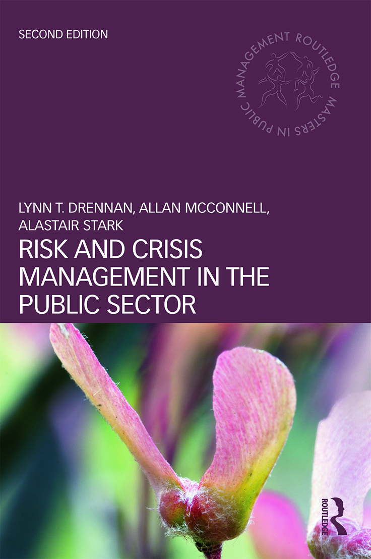 Risk and Crisis Management in the Public Sector book cover