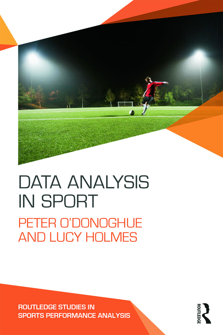 Data Analysis in Sport book cover