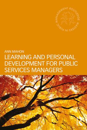 Learning and Personal Development for Public Services Managers book cover