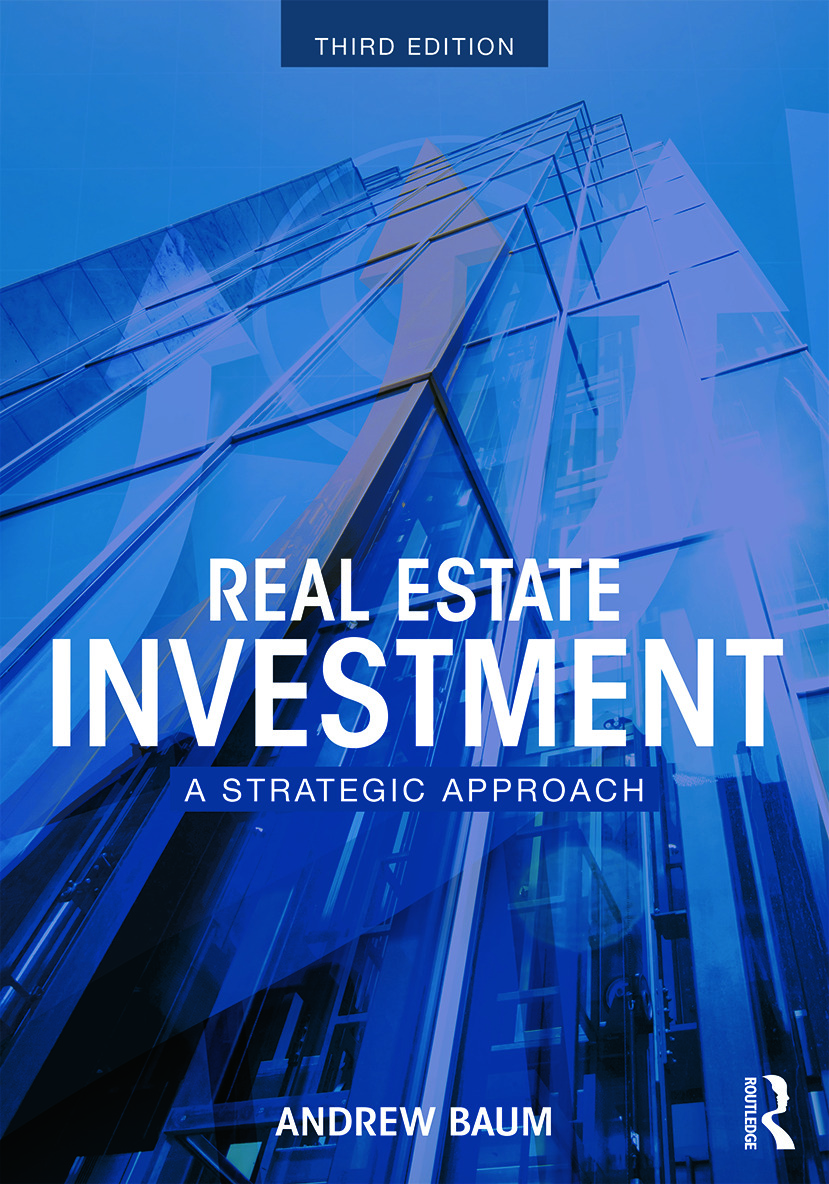 Real Estate Investment: A Strategic Approach, 3rd Edition (Paperback) book cover