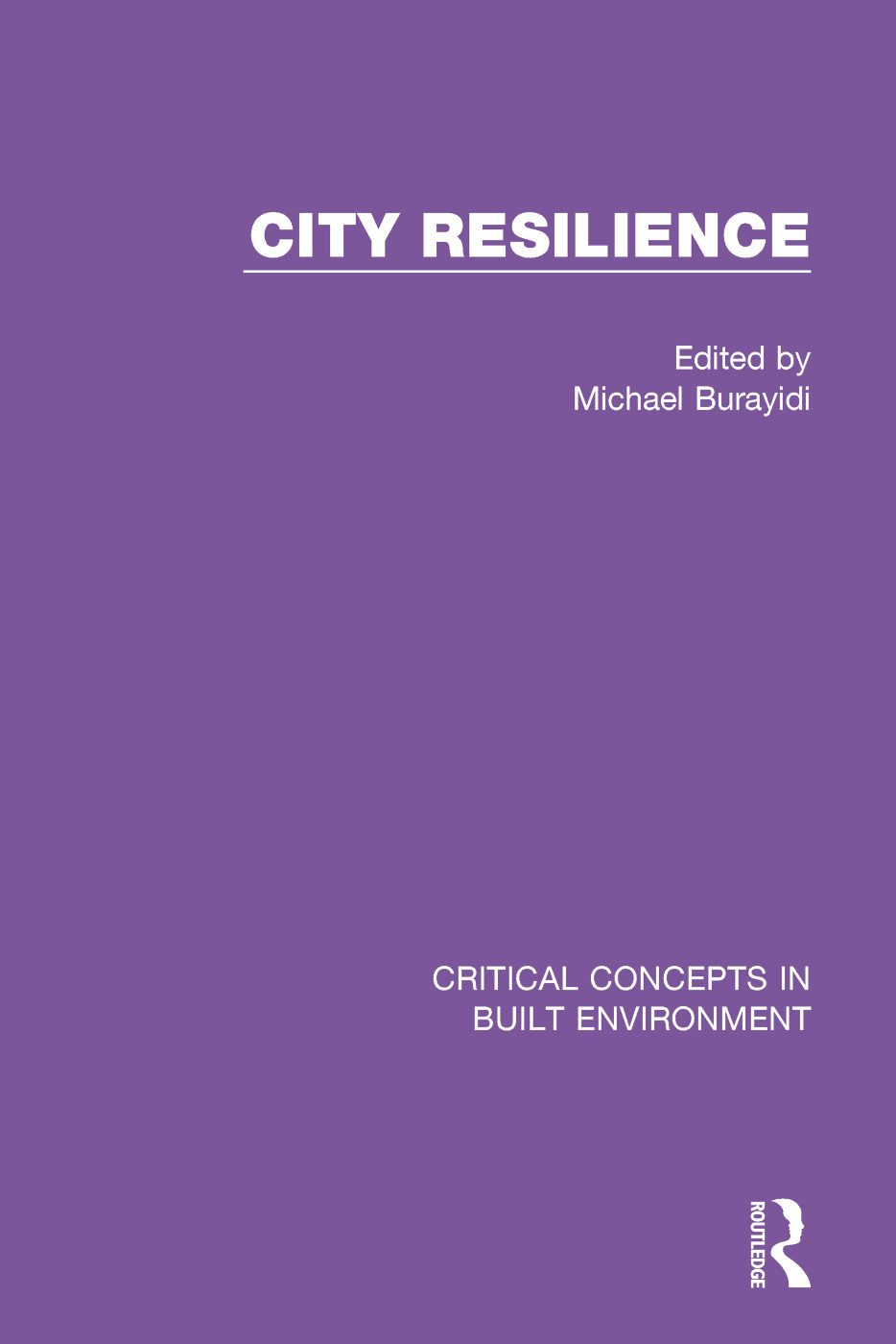 City Resilience book cover