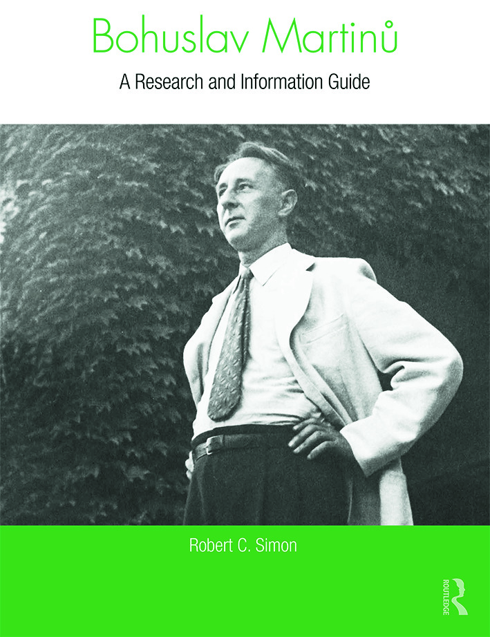 Bohuslav Martinu: A Research and Information Guide book cover