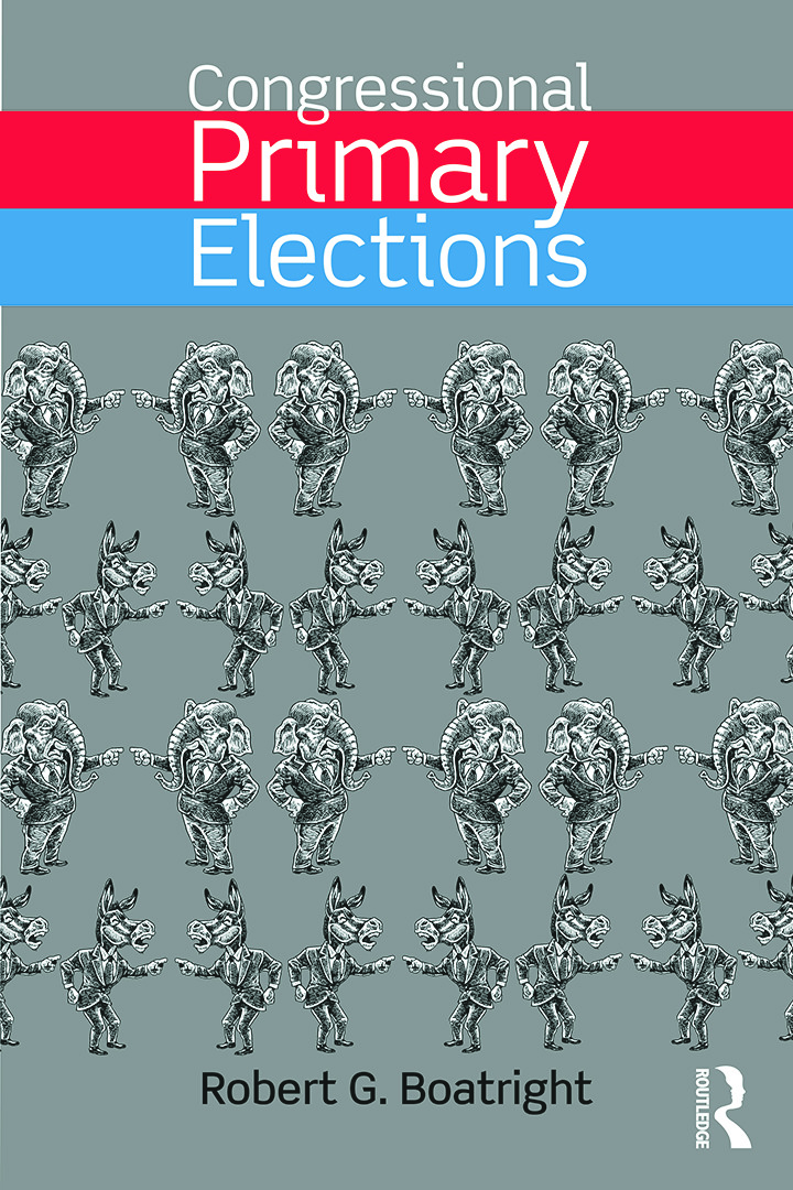 Congressional Primary Elections: 1st Edition (Paperback) book cover