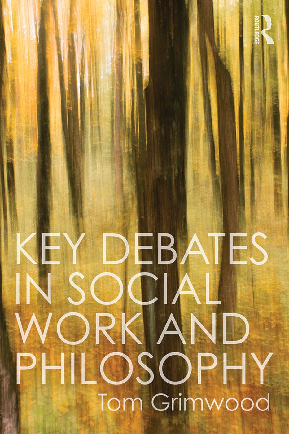 Key Debates in Social Work and Philosophy book cover