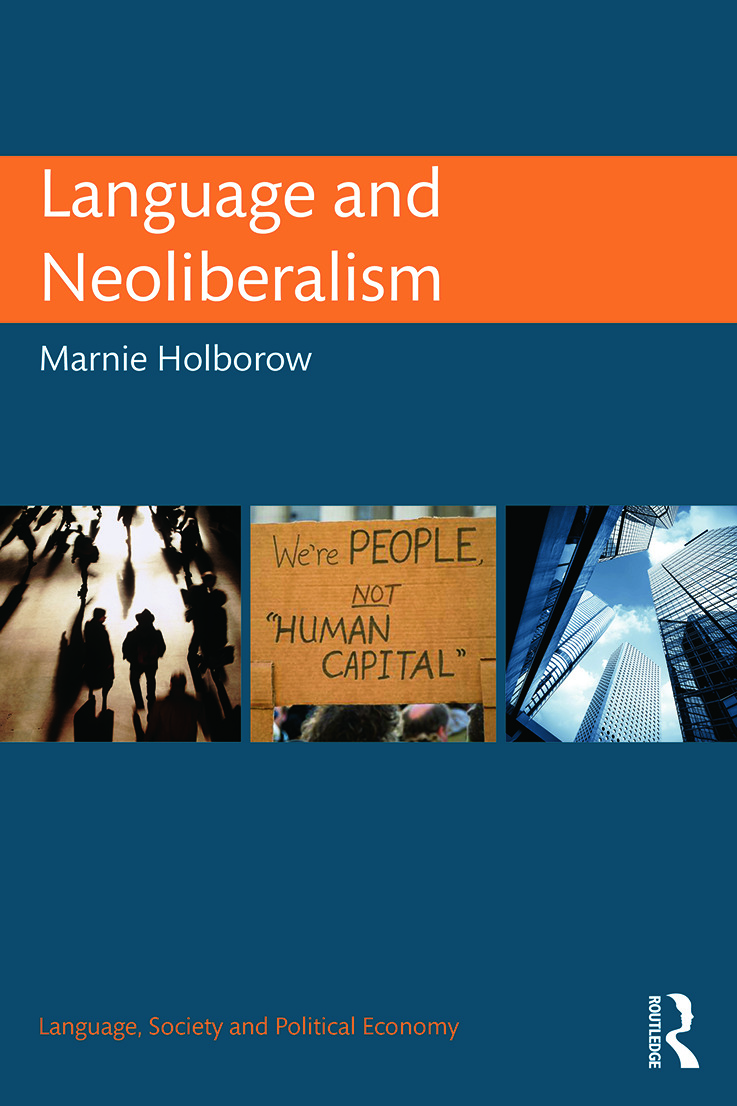 Language and Neoliberalism book cover