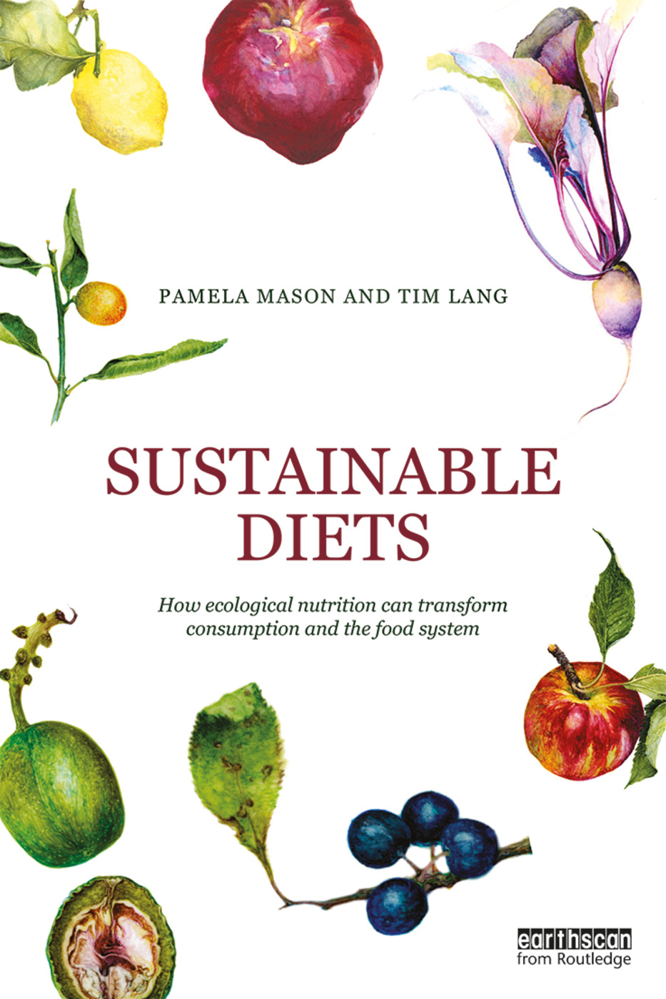 Sustainable Diets: How Ecological Nutrition Can Transform Consumption and the Food System book cover