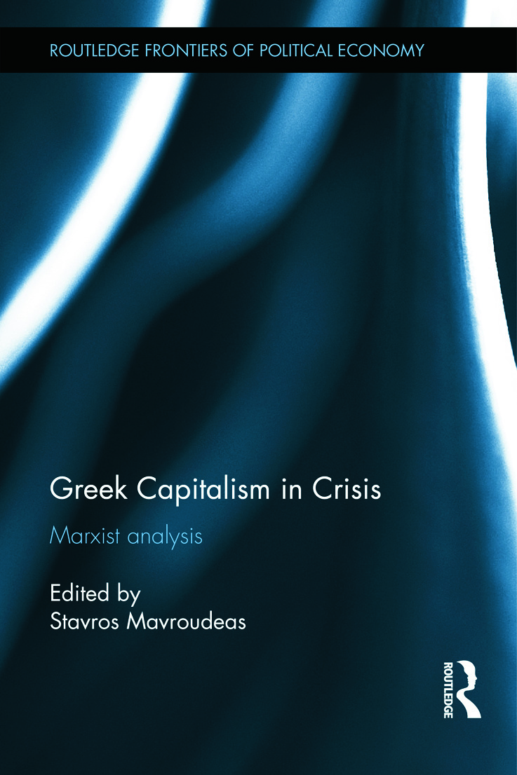Greek Capitalism in Crisis: Marxist Analyses (Paperback) book cover