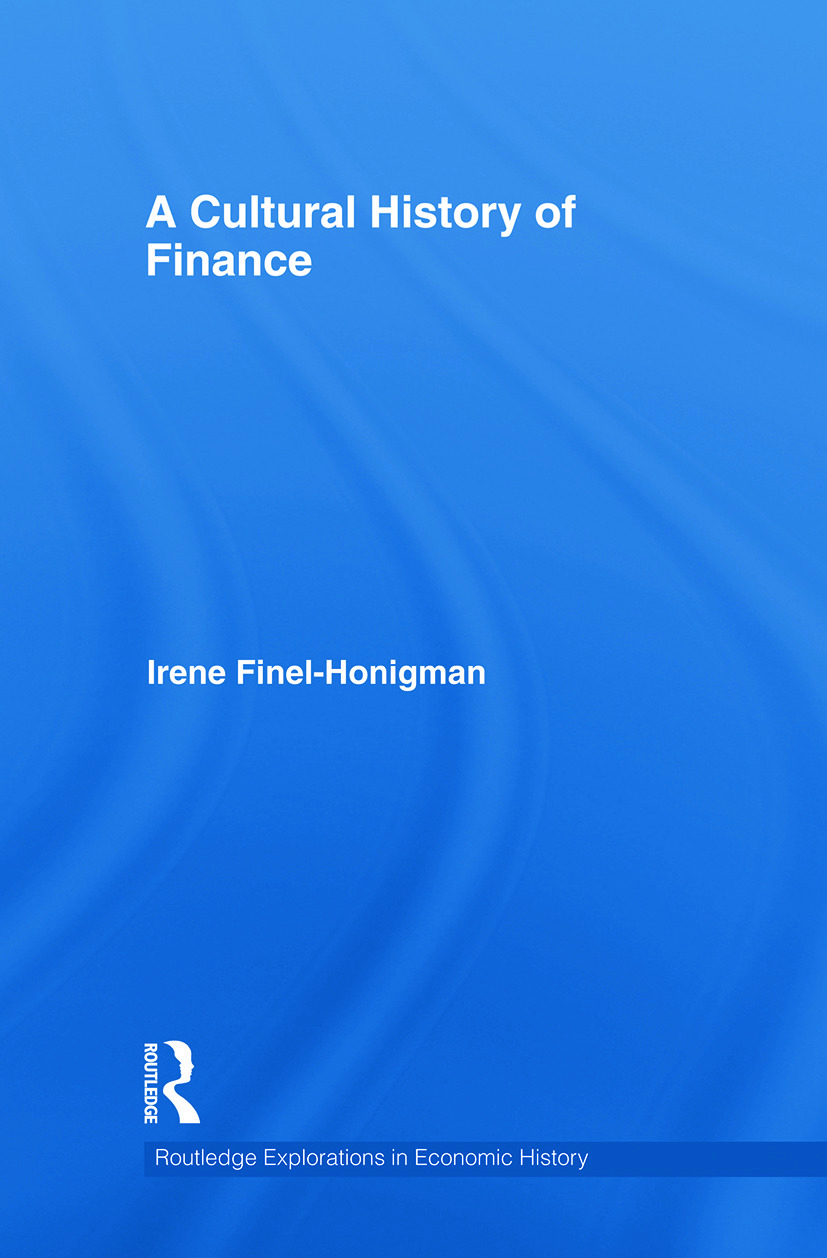A Cultural History of Finance book cover