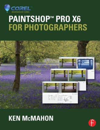PaintShop Pro X6 for Photographers book cover
