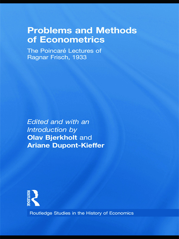 The philosophical foundations of econometrics. The axiomatic method. Utility as quantity.