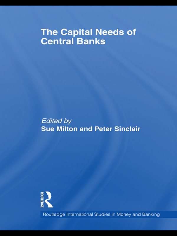 The Capital Needs of Central Banks (Hardback) book cover