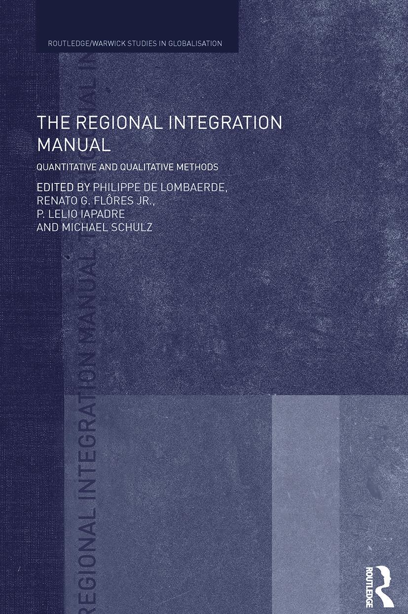 The Regional Integration Manual: Quantitative and Qualitative Methods (Paperback) book cover