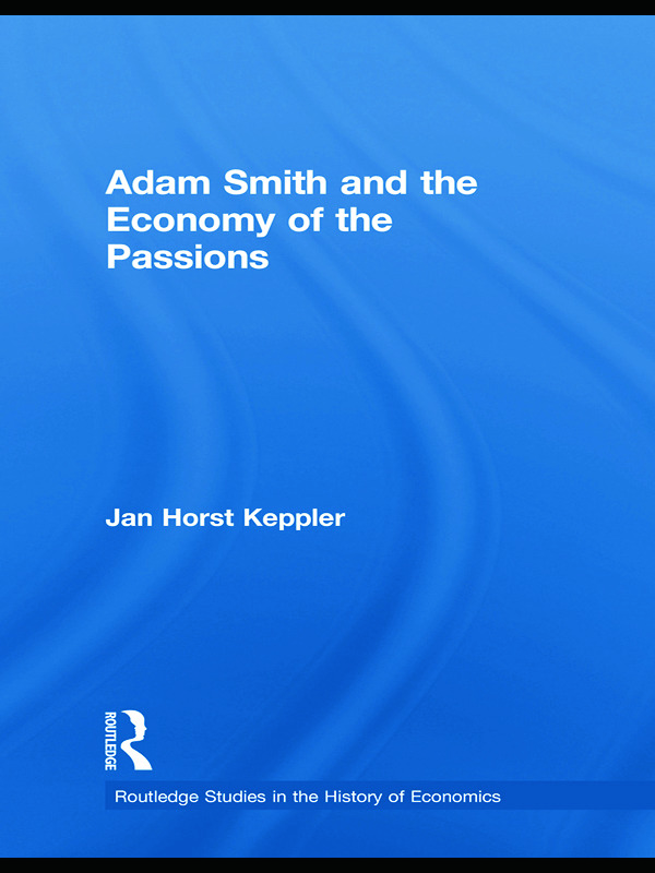 Adam Smith and the Economy of the Passions: 1st Edition (Paperback) book cover
