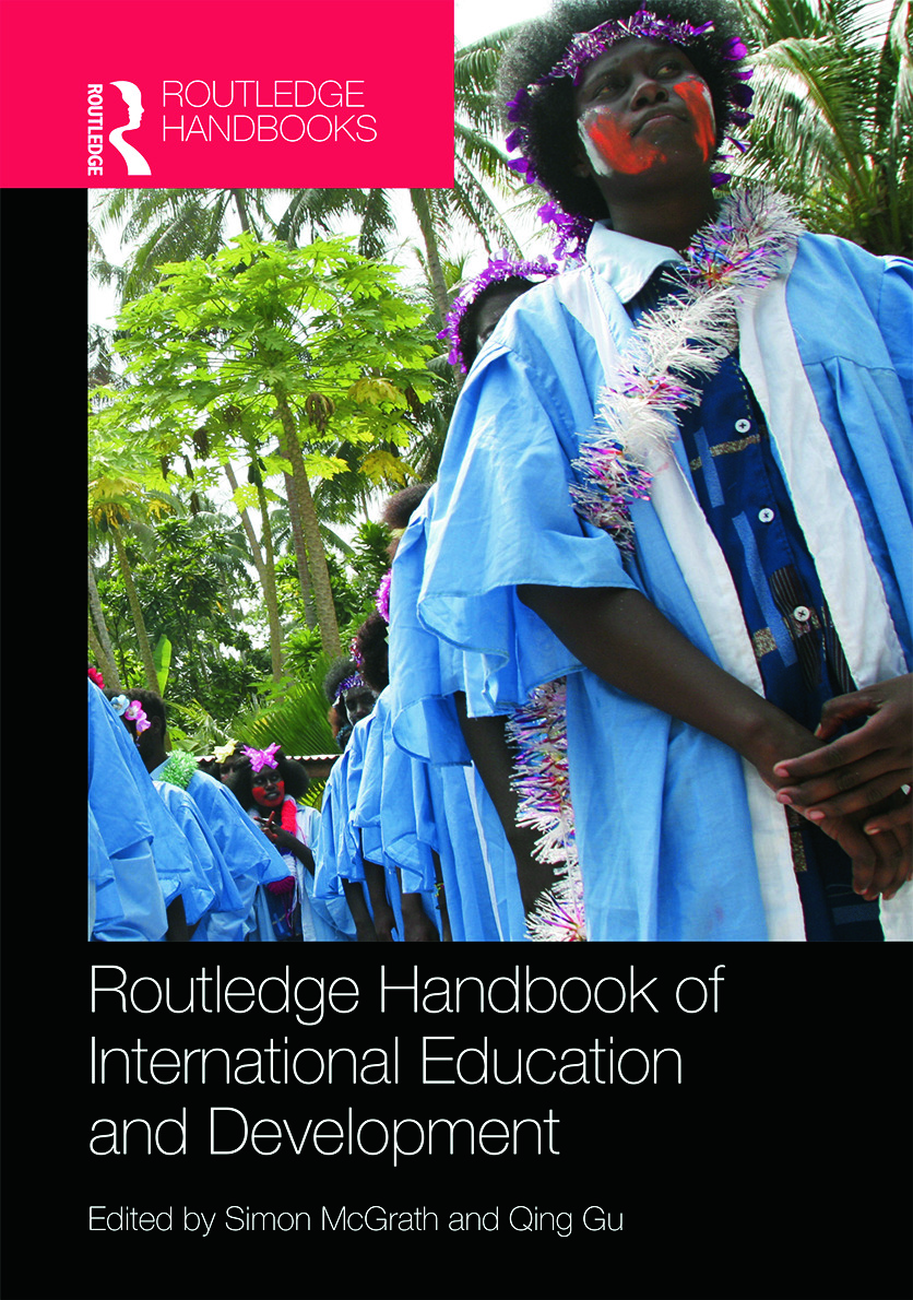 Routledge Handbook of International Education and Development book cover