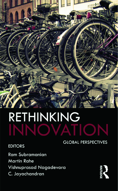 Rethinking Innovation: Global Perspectives, 1st Edition (Hardback) book cover