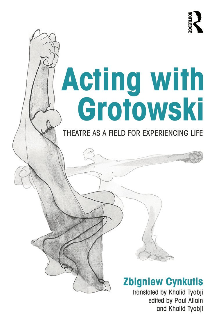 Acting with Grotowski (Paperback) book cover