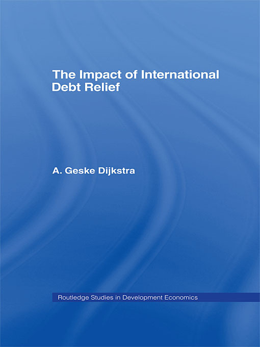 The impact of debt relief since 2000 and prospects for the future