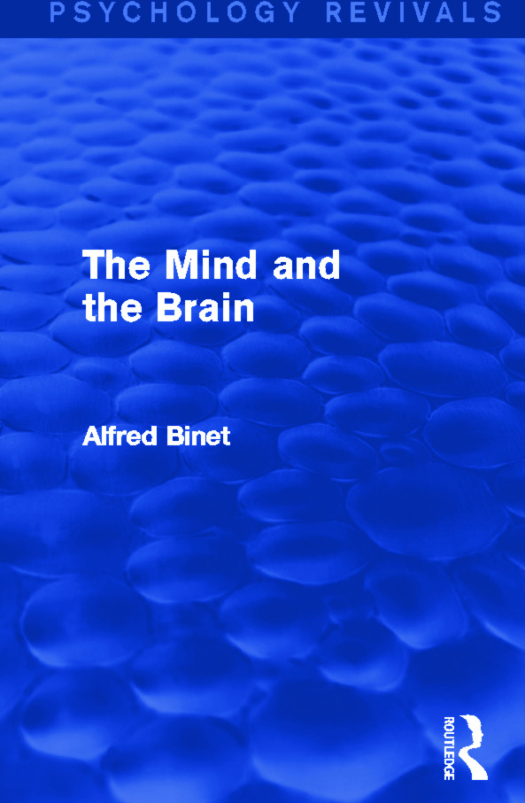The Mind and the Brain: 1st Edition (Paperback) book cover