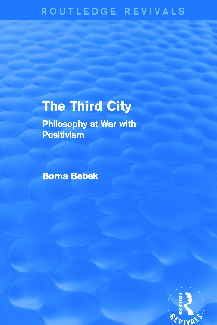 The Third City (Routledge Revivals)