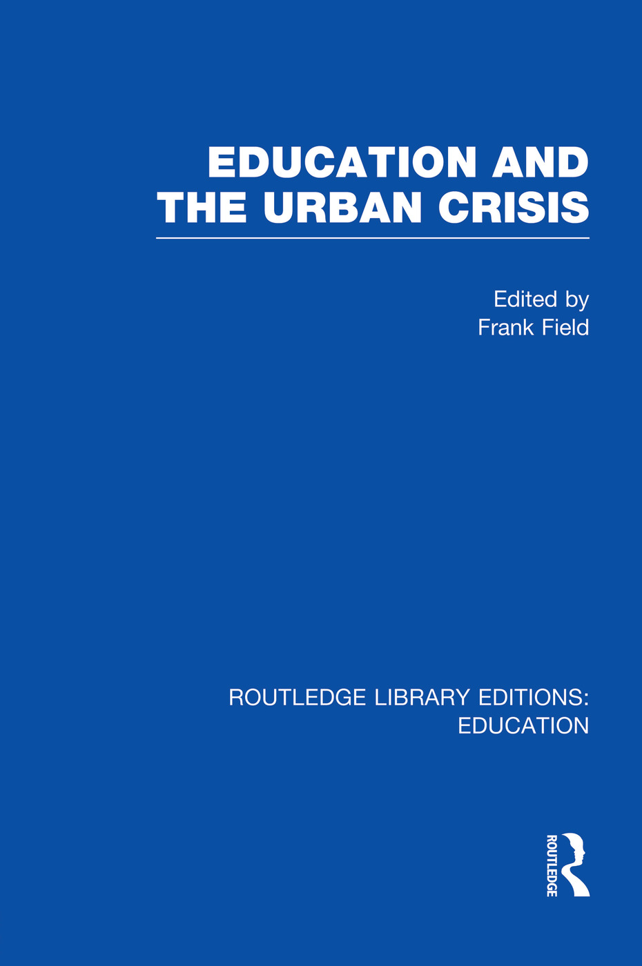 Education and the Urban Crisis