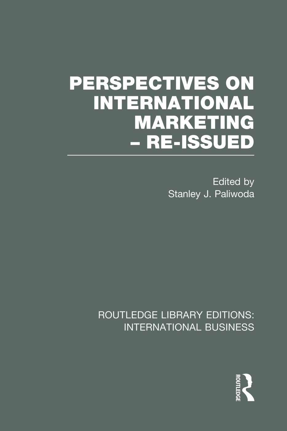 Perspectives on International Marketing - Re-issued (RLE International Business)