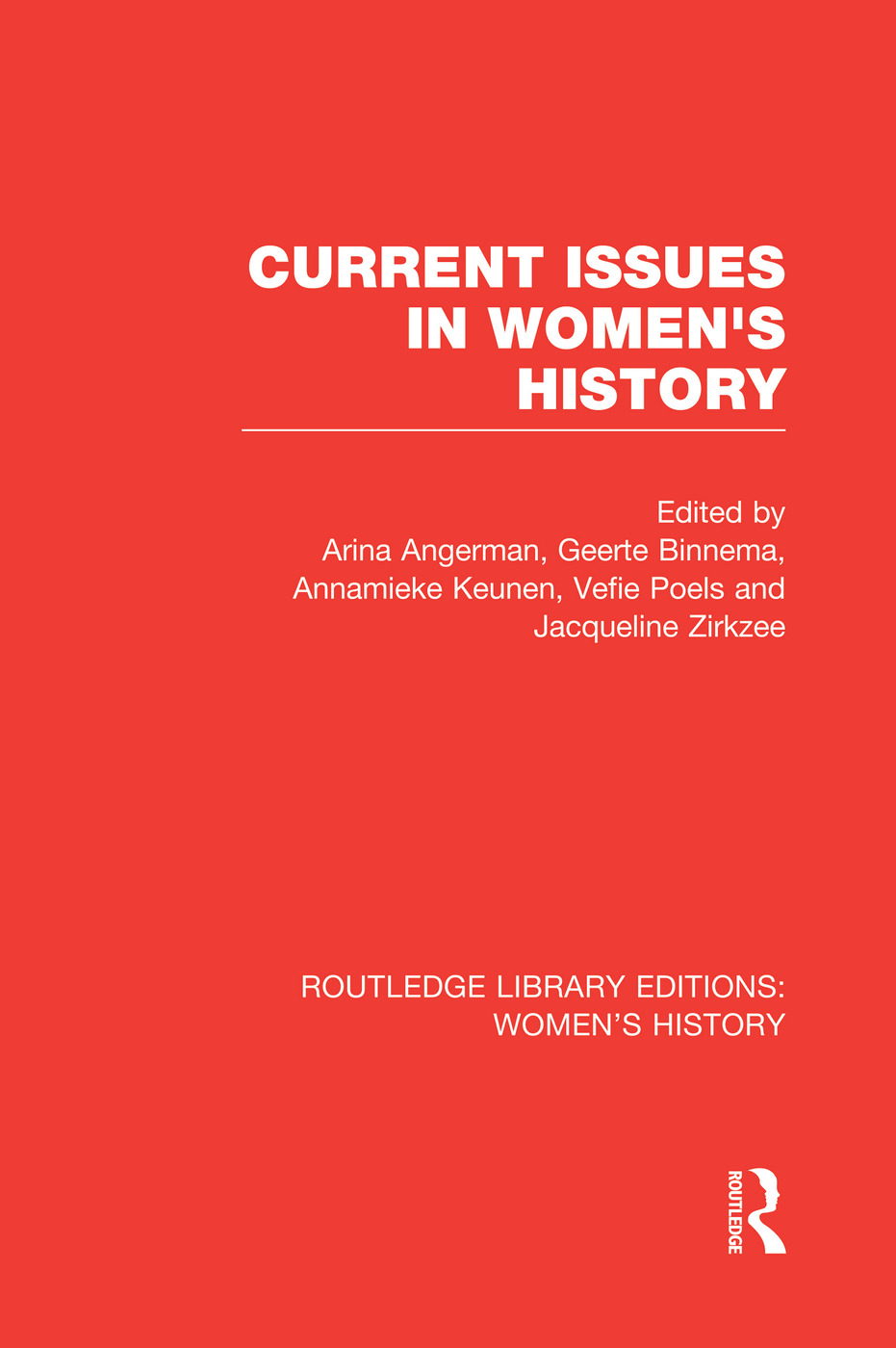 Current Issues in Women's History book cover