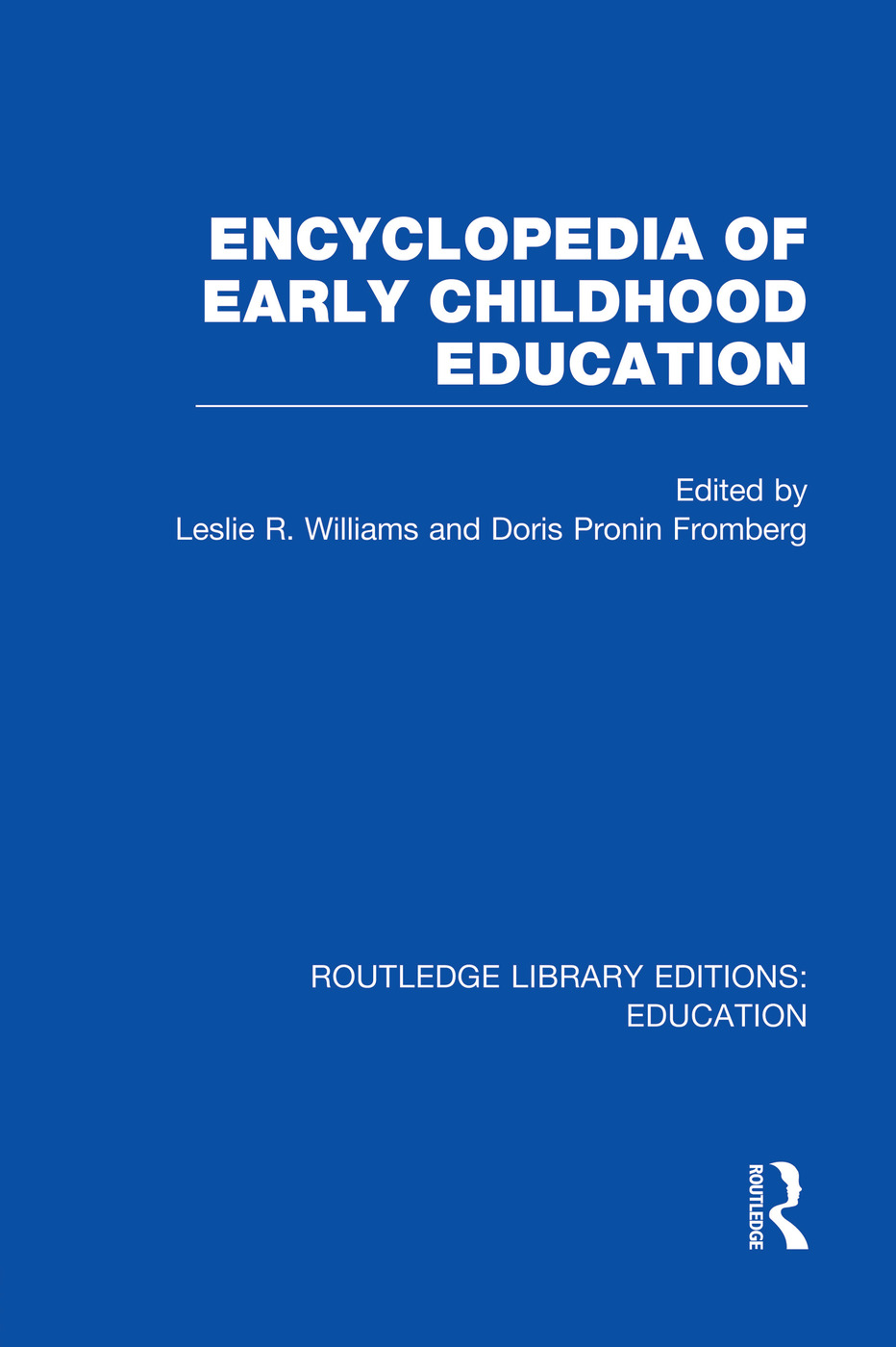 Encyclopedia of Early Childhood Education (Paperback) book cover