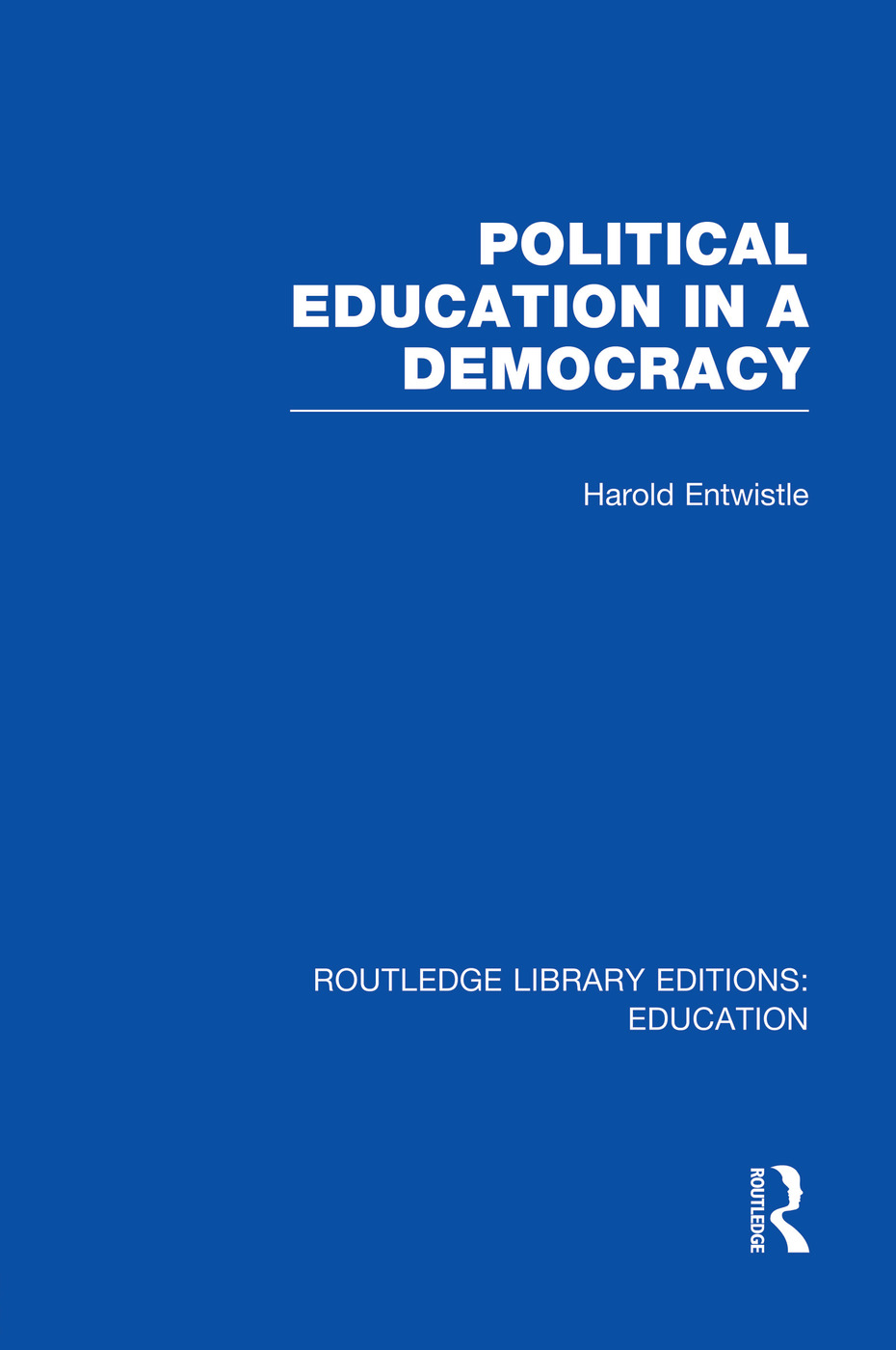 Political Education in a Democracy: 1st Edition (Paperback) book cover