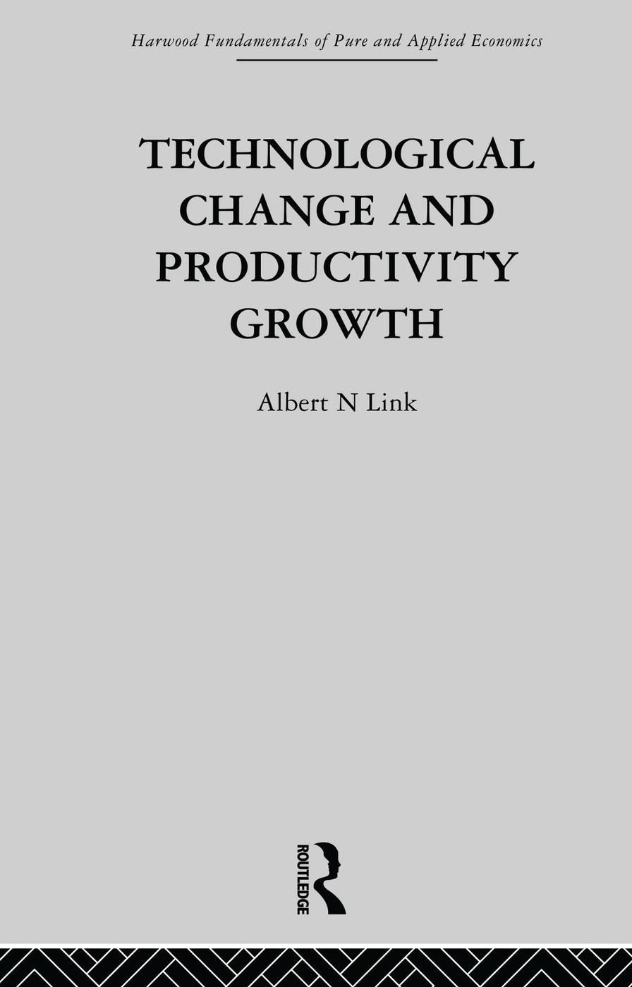 Technological Change & Productivity Growth (Paperback) book cover