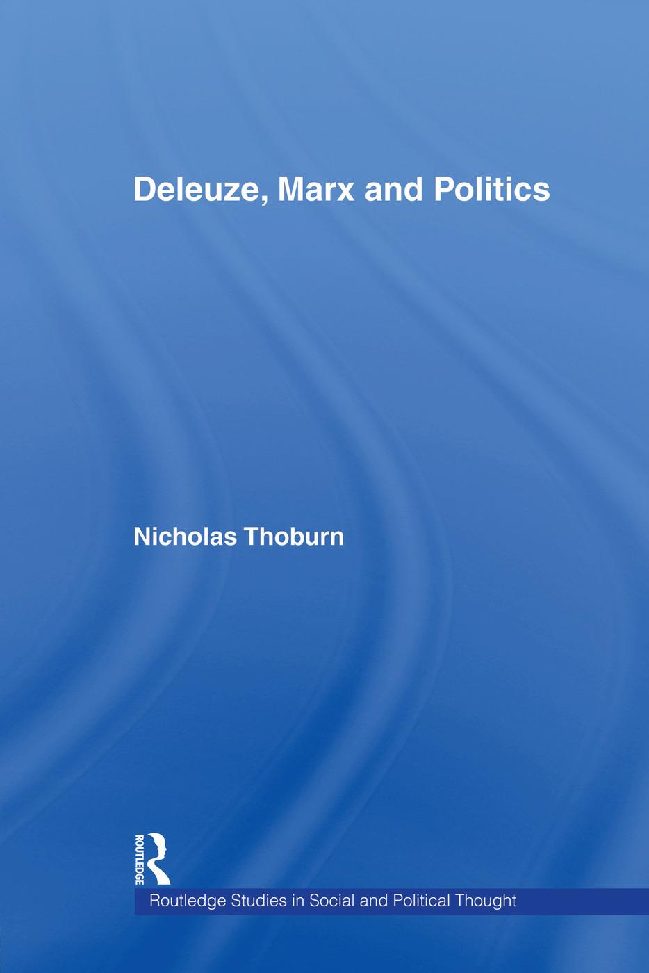 Deleuze, Marx and Politics book cover