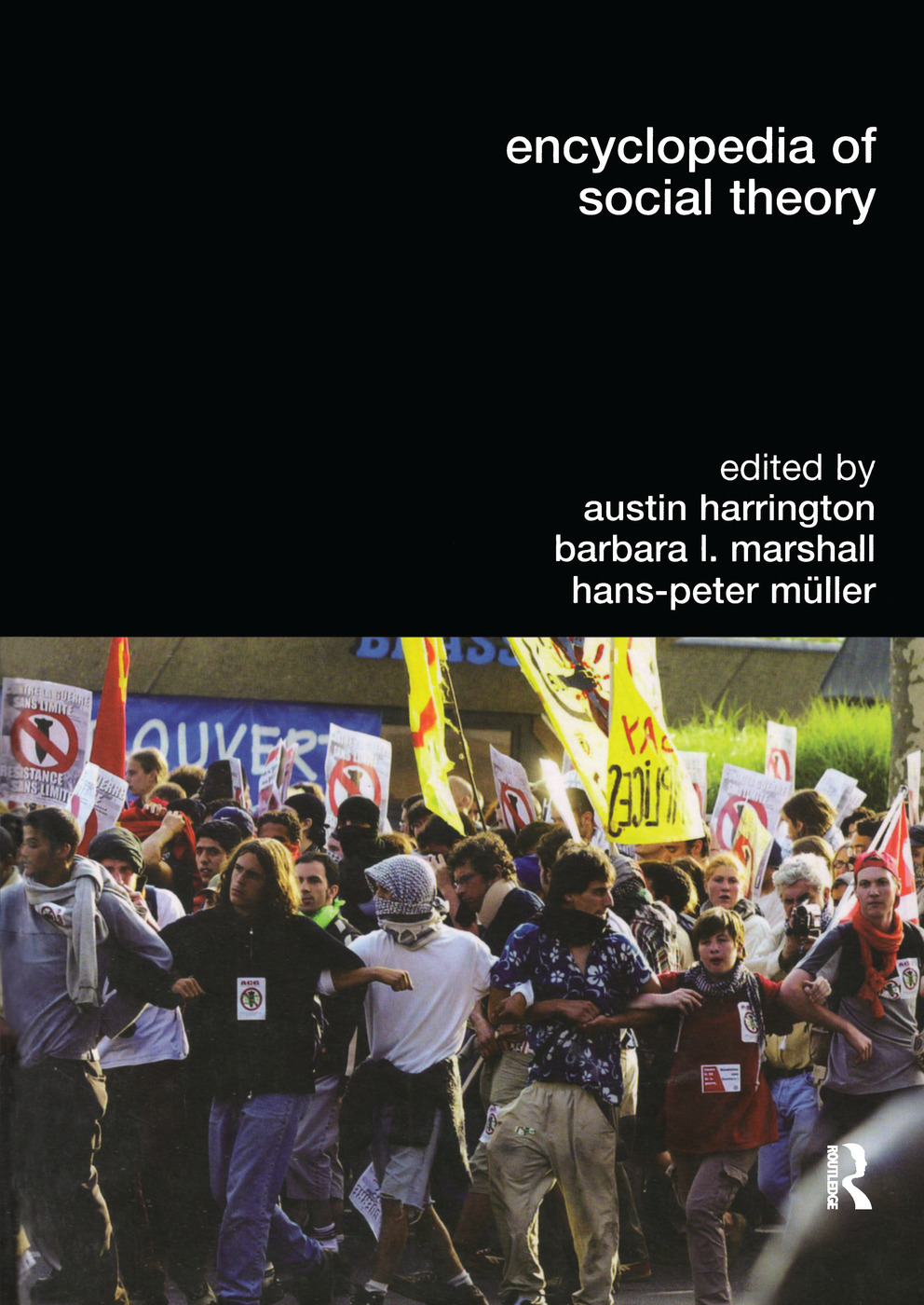 Encyclopedia of Social Theory: 1st Edition (Paperback) book cover
