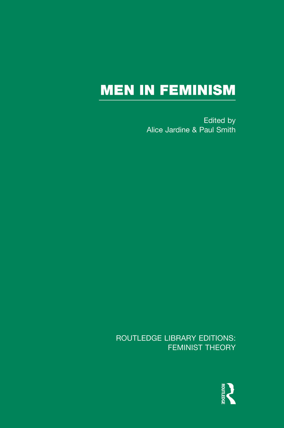 Men in Feminism (RLE Feminist Theory) book cover