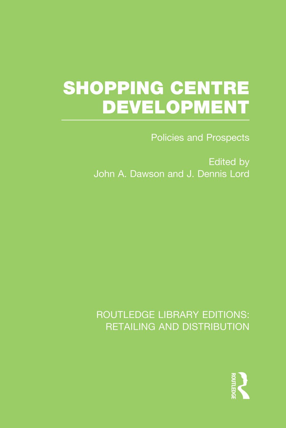 Shopping Centre Development (RLE Retailing and Distribution)