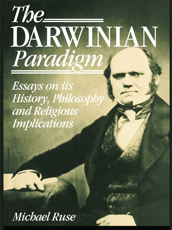 The Darwinian Paradigm: 1st Edition (Paperback) book cover