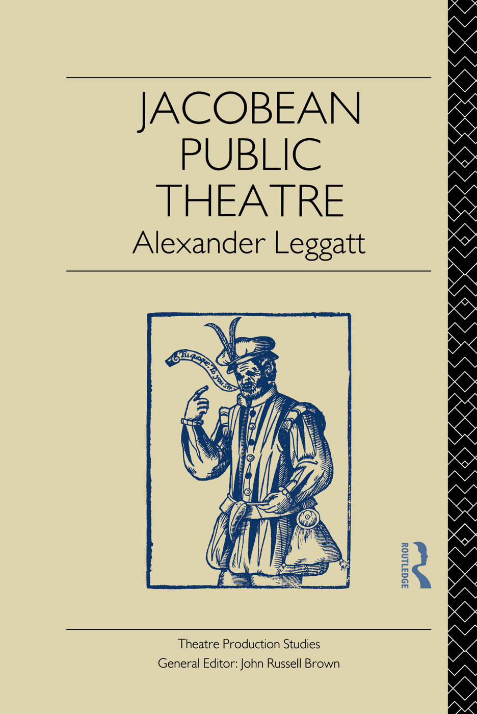 Jacobean Public Theatre (Paperback) book cover