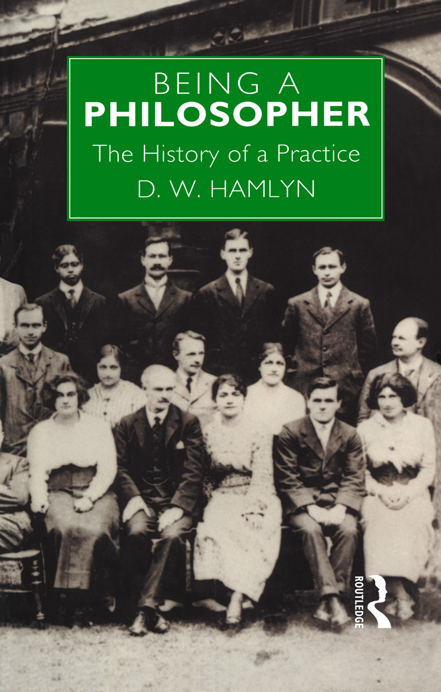 Being a Philosopher: The History of a Practice book cover