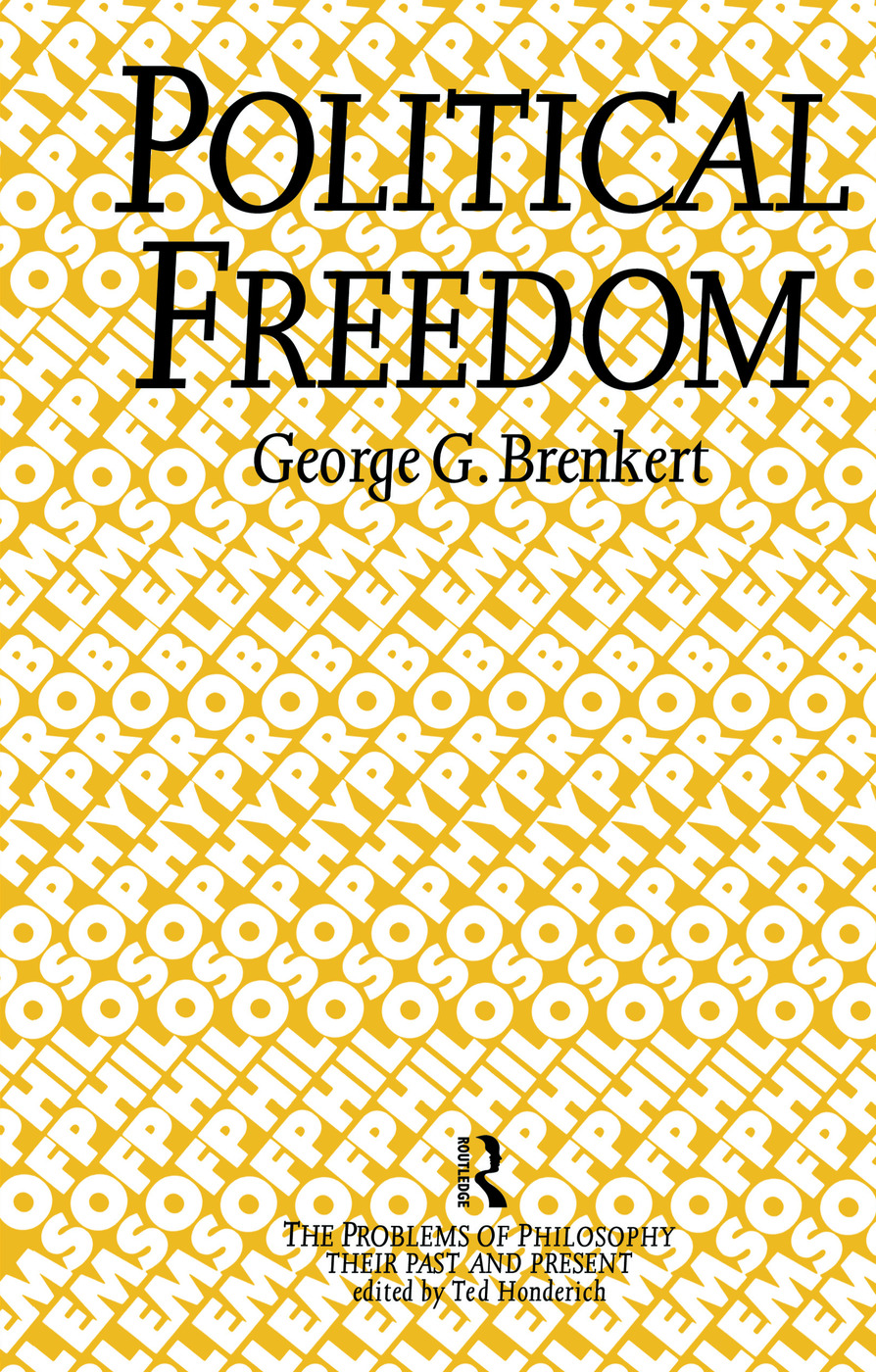 Political Freedom (Hardback) book cover