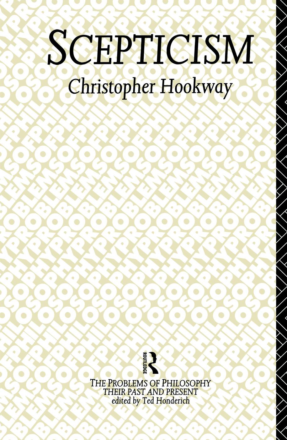 Scepticism (Hardback) book cover