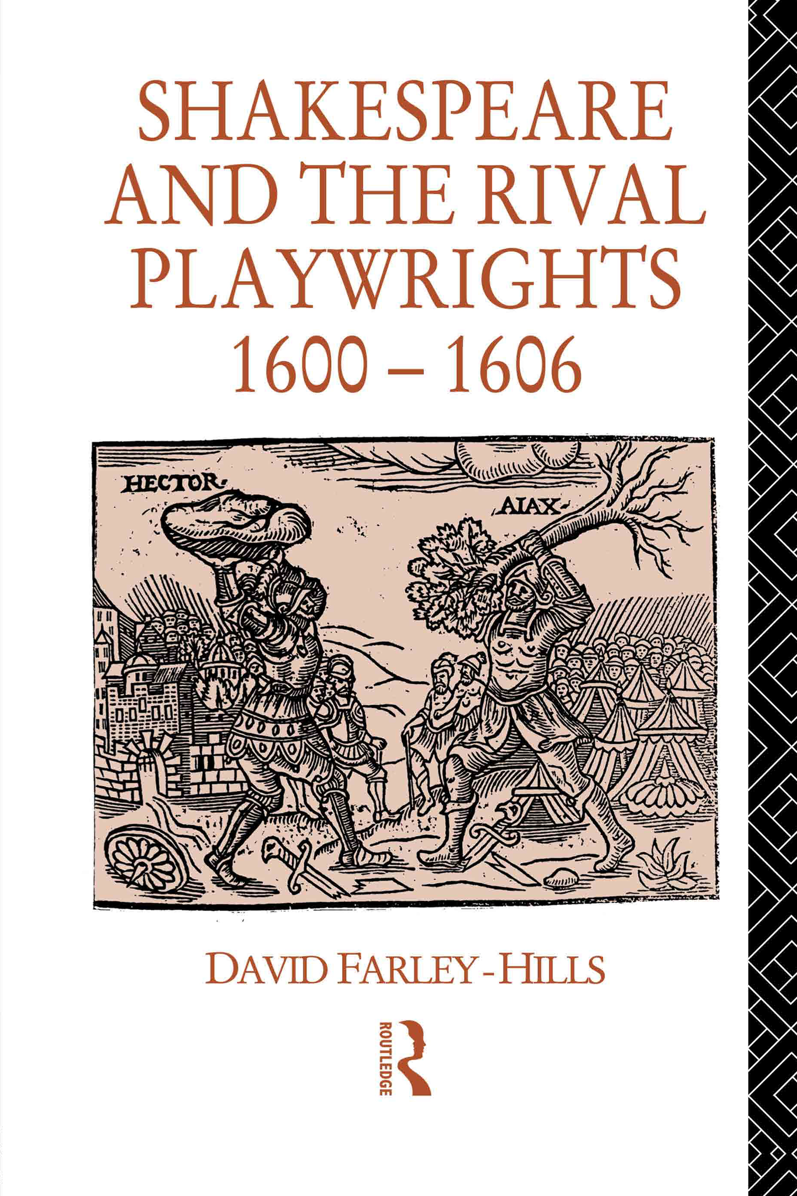 Shakespeare and the Rival Playwrights, 1600-1606 (Hardback) book cover